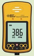 AS8903 כף יד Hydrothion H2S פחמן חד חמצני CO גז גלאי צג 2in1