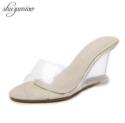 Kaufen Günstig Keile Alle Transparente Schuhe High Heels 8,5