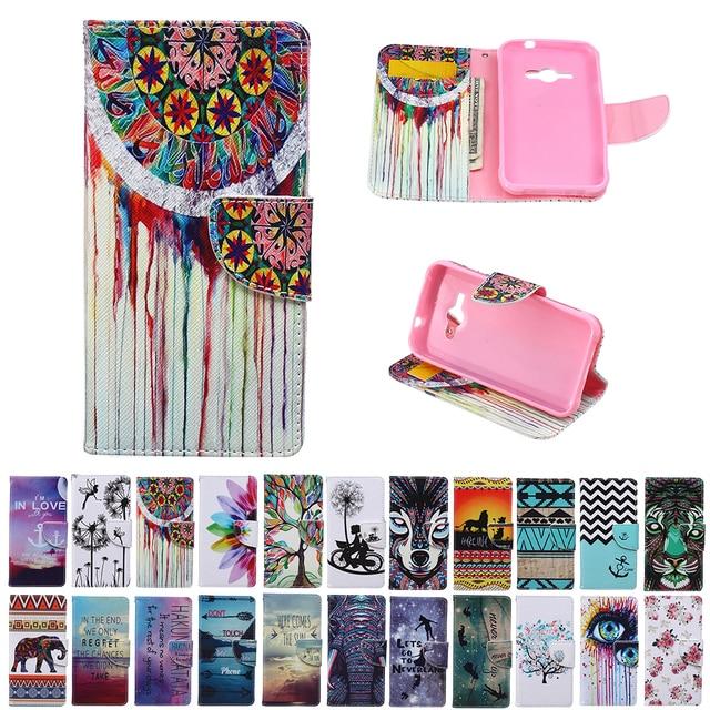 for Samsung Galaxy J1 Ace J 1 J111F J110h J110M SM-J110M SM-J111F SM-J110h Case Flip Leather Phone Cover for J1Ace J110 SM-J110