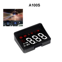 Car HUD Head Up Display New Generation Overspeed Warning System Projector Windshield Auto Electronic Voltage Alarm A100S