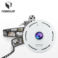 FORECUM 360 Degree VR Panorama Camera 960P 1080P Wireless WIFI IP Camera Home Security Video Surveillance