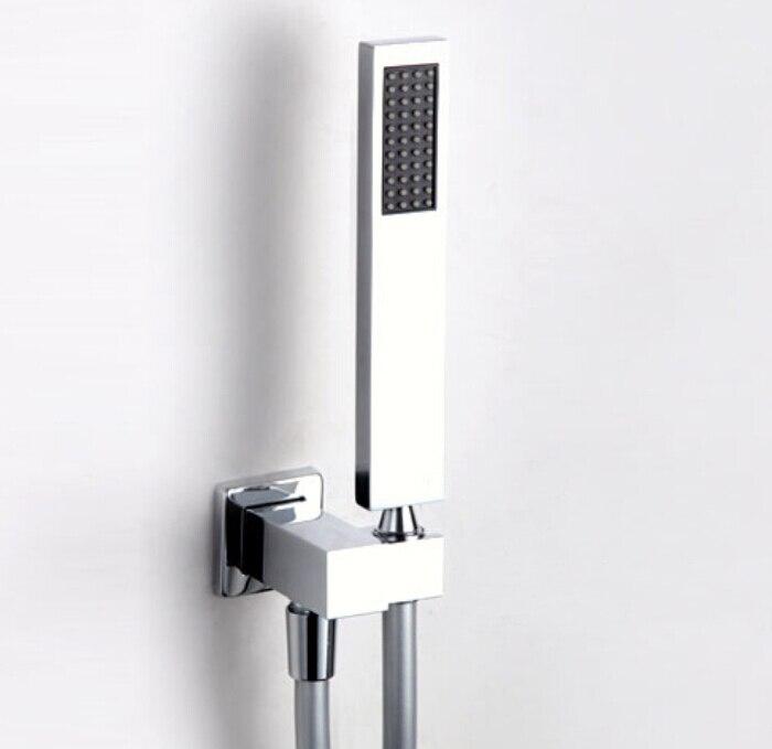 Aliexpress.com : Buy brass chrome hand held shower head & brass ...