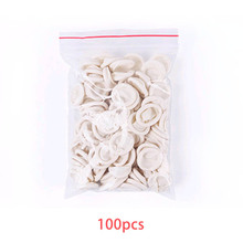 100pcs Finger Cots Nature Latex Portable Multifunction Disposable Fingertip Protective Rubber Gloves Non-toxic