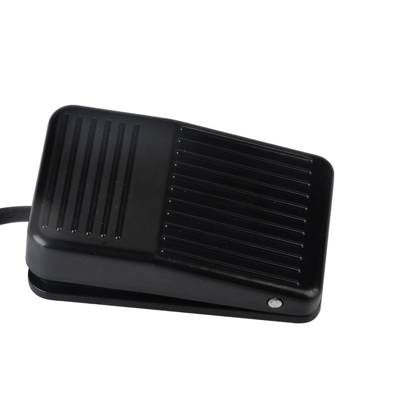 TFS-1 For IMC Nonslip Metal Momentary Electric Power Foot Pedal Switch With line 20 cm, Plastic Case imc hot spdt nonslip metal momentary electric power foot pedal switch