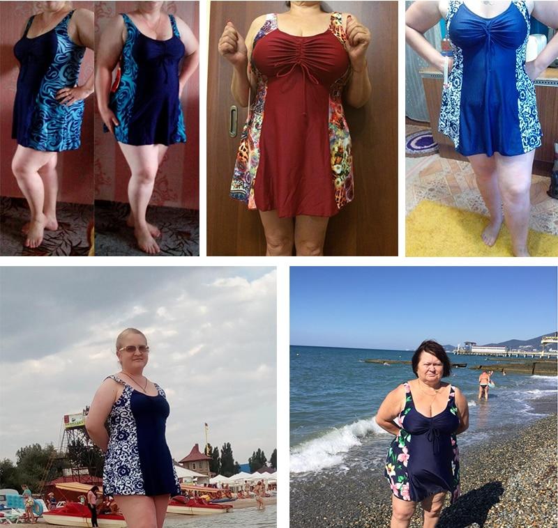 f55e72c3496 17 New Hot Brand Sexy Retro Extra Large Plus Size Swimwear XL-7XL Big  Breasts