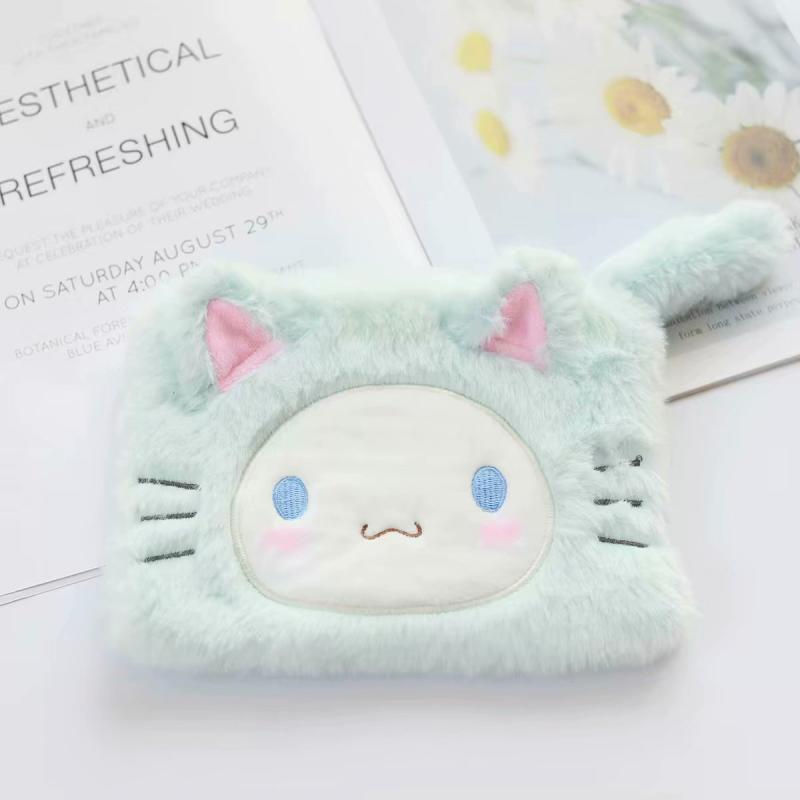 1pc Kawaii My Melody Big Ear Dog Plush Purses Phone Bags For Girls Gifts
