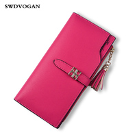 Womens Wallets And Purses Phone Bag For IPhone 7 Case Fashion PU Leather Zipper Female Wallet