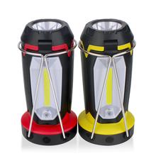USB Rechargeable Portable Spotlights COB LED Work Light Waterproof 6 Mode Flood Light Outdoor Emergency Lamp For Hunting Camping