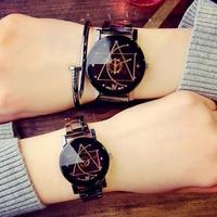 Cindiry top brand luxury gear compass turntable dial quartz wrist watches men stainless steel band womens.jpg 200x200