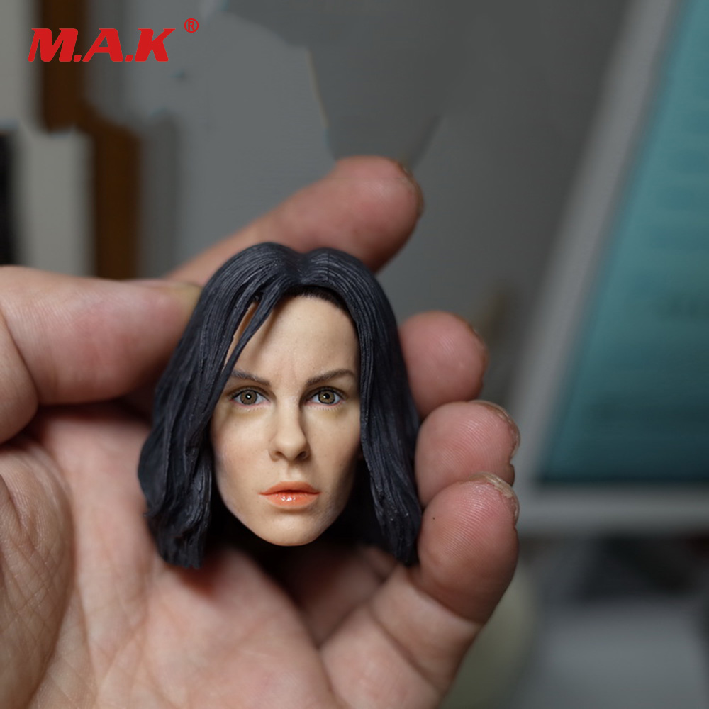 Kate Beckinsale Head Sculpt Head with Blue/Black Eyes 1/6 Scale Head Carving Headplay for 12 inches Female Action Figure цена