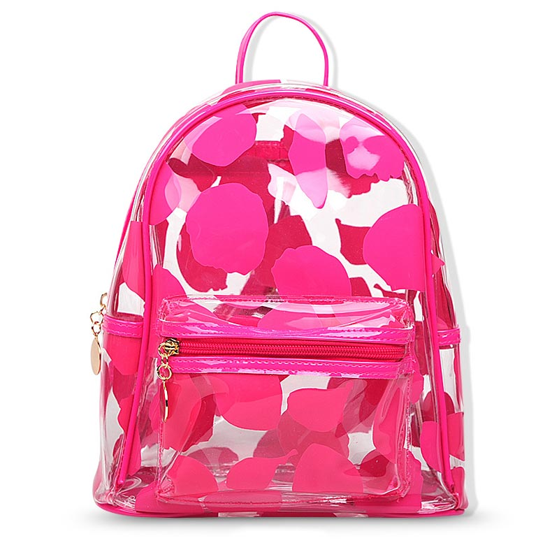 2018 Fashion Women Backpack High Quality Transparent Backpacks for Teenage Girls Female School Shoulder Bag Bagpack mochila