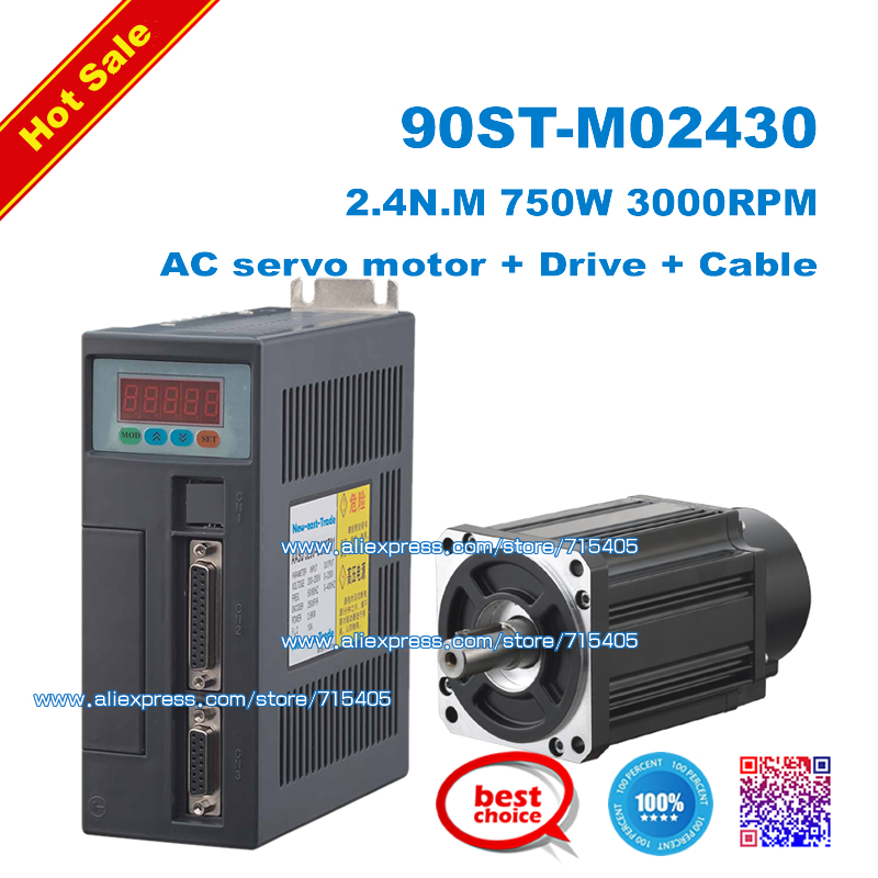 Buy hot sale new 750w ac servo motor 2 4n Servo motor sale