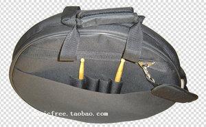 """Image 5 - プロフェッショナルポータブル肩バックパックは負荷 4 個 20 """"デラックスシンバルバッグキャリングケースドラムシンバル楽器ギグ黒"""