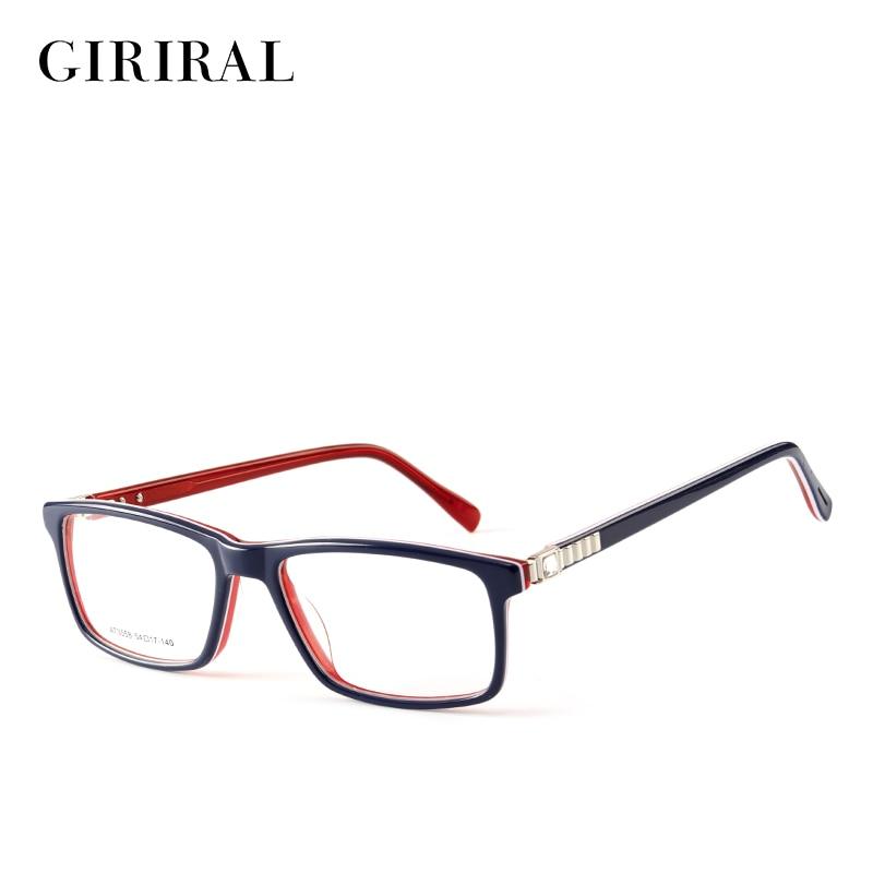Accetate Frauen Spektakel Rahmen Retro Designer Transparent Klar Mode Optische Brillen Rahmen # At3558 Verkaufspreis