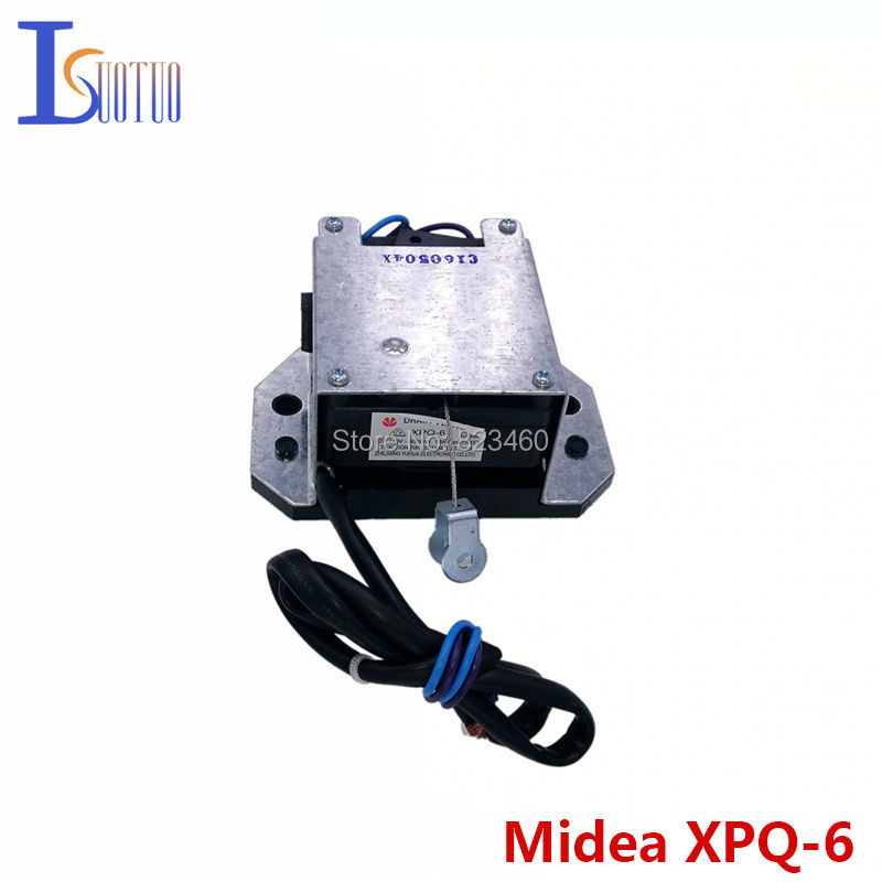 Midea/Royalstar original washer retractor XPQ-6 drain valve motor brand new washing machine parts washing machine parts dxt 15f g 3 5a 250v 6 wires 6 8cm hole distant