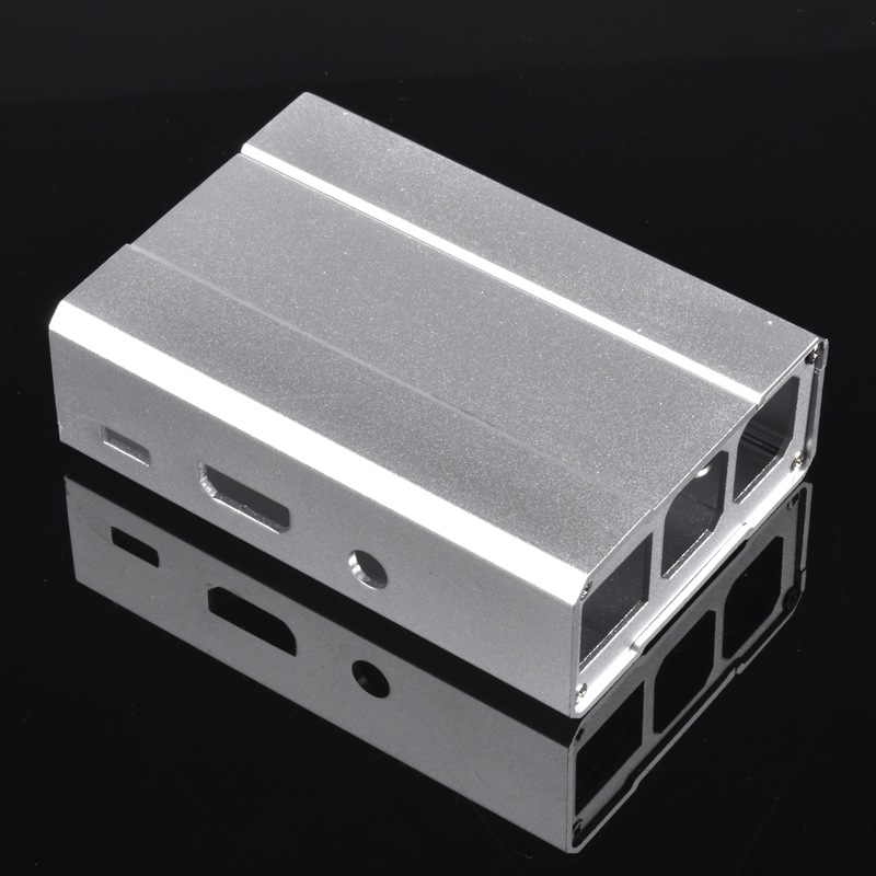 Raspberry Pie 3 Generation Shell Aluminum Alloy Shell Aluminum Case RASPBERRY Pie 2 Generation Metal Case Box Box Direct Selling