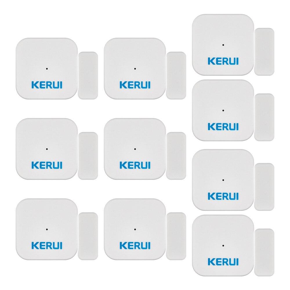 KERUI Sans Fil D028 Maison Intelligente Fenêtre Capteur D'aimant De Porte Détecteur Portatif Anti-Sabotage Alarme Antivol Pour KERUI Système D'alarme
