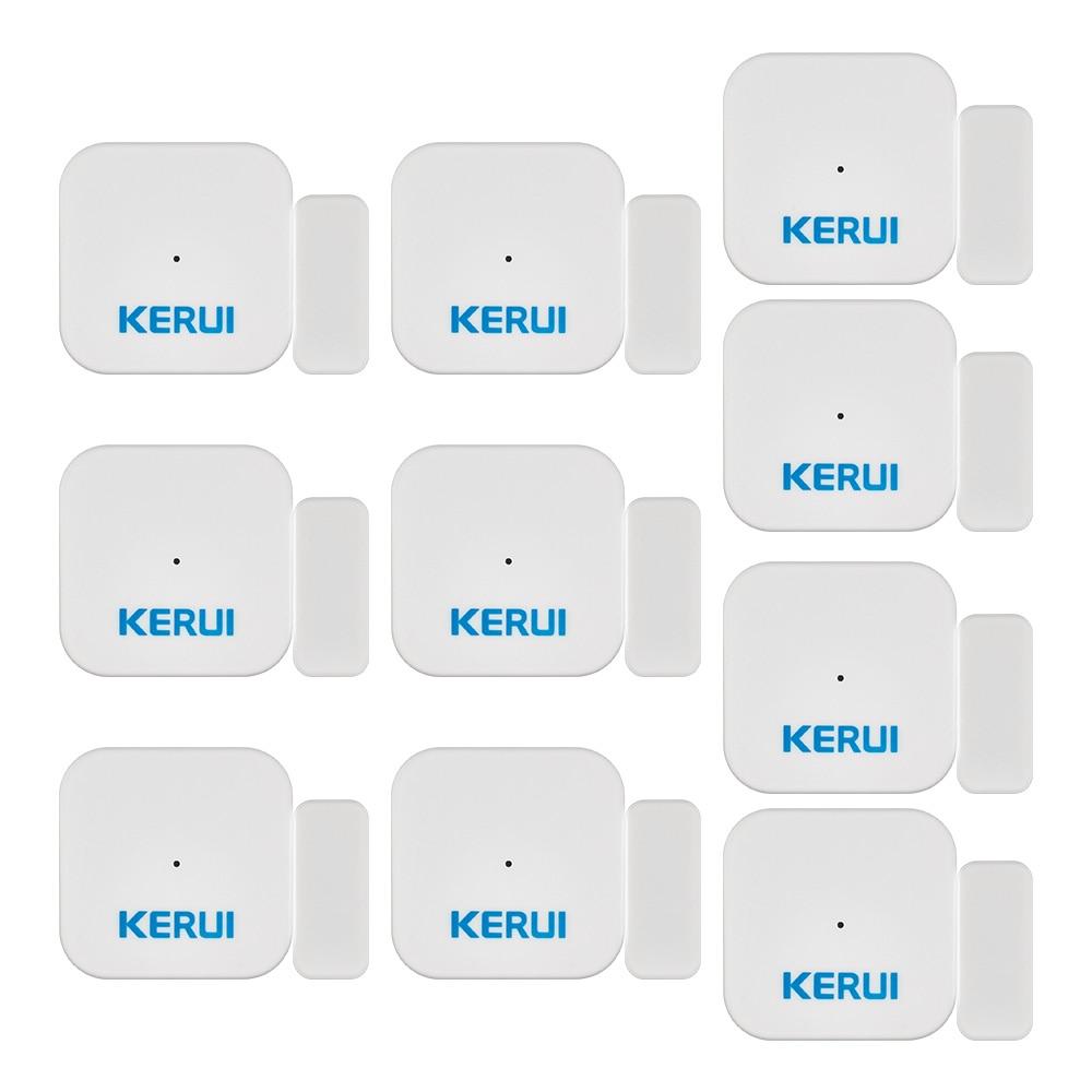 KERUI sans fil D028 intelligent maison fenêtre porte aimant capteur détecteur Portable Anti-effraction alarme pour système d'alarme KERUI