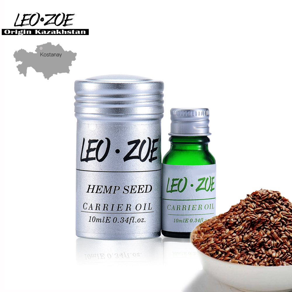 Pure Hemp Seed Oil Famous Brand LEOZOE Certificate Of Origin Kazakhstan Hemp Seed Essential Oil 10ML image