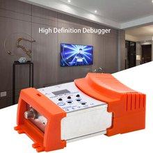 HDM68 модулятор цифровой RF HDMI модулятор AV в RF конвертер VHF UHF PAL/NTSC Стандартный Портативный модулятор для ЕС оранжевый
