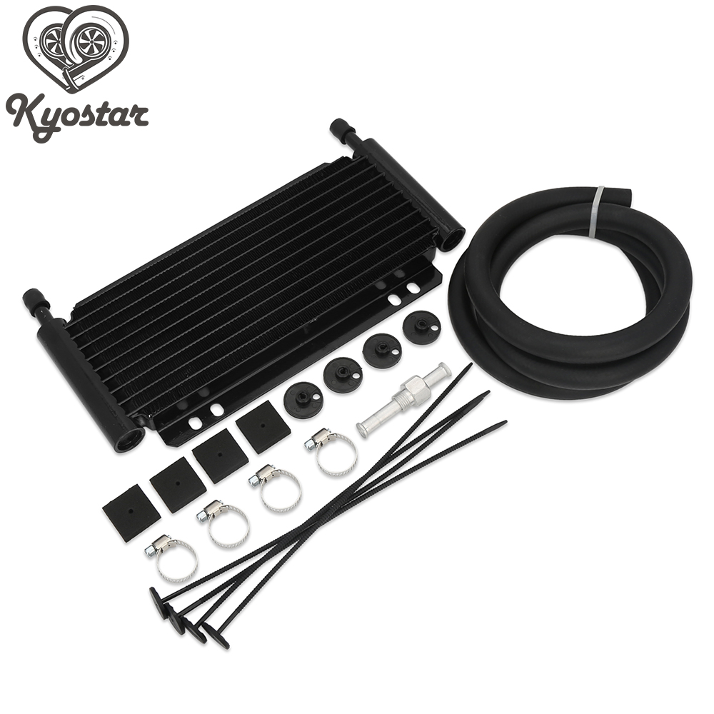Oil Cooler Aluminum Transmission Oil Cooler 9 Row Automatic Stacked Series 8000 Type Plate Fin Core