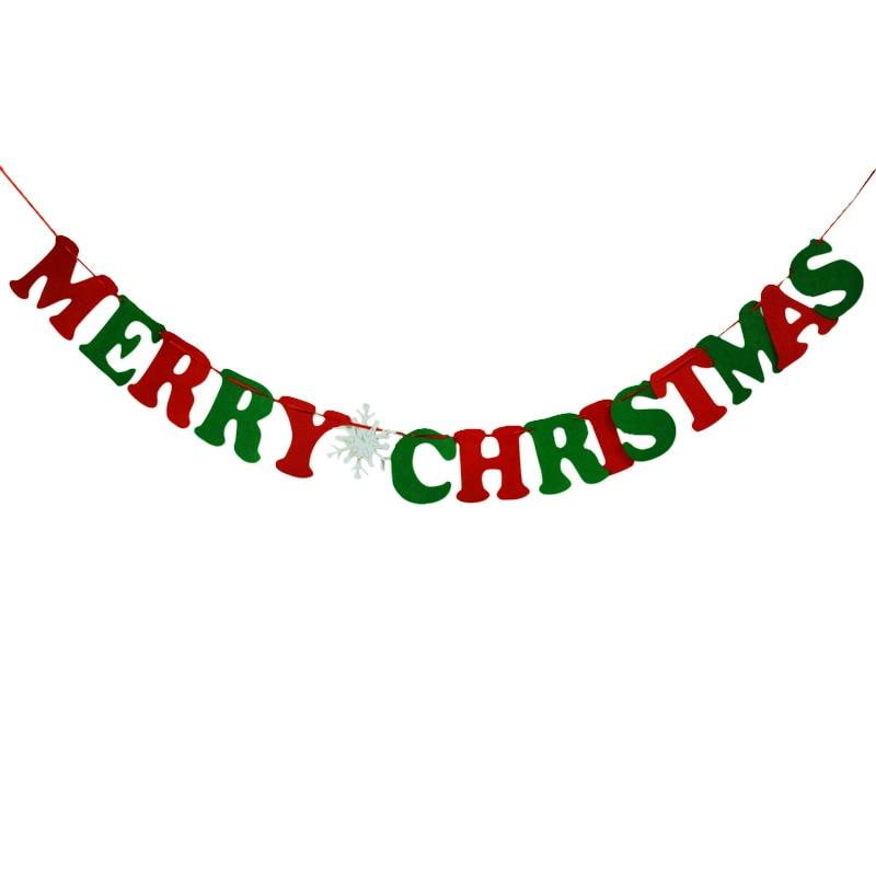 Buchstaben Frohe Weihnachten.Us 4 25 Weihnachten Flags Banner Garland Alphabet Buchstaben Frohe Weihnachten Vlies Weihnachten Dekoration Für Das Neue Jahr Hause 4 Mt In
