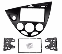Double Din Stereo Panel For Ford Focus Fascia Radio Refitting Dash Installation Trim Kit Face Left