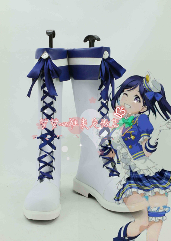 Love live! Sunshine! Aqours yohane cosplay shoes Lovelive Tsushima Yoshiko Anime boots Custom-made