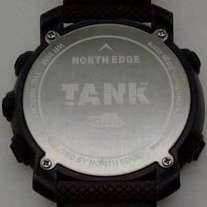 Image 5 - NORTH EDGE hommes sport montre numérique heures pour la course à pied natation armée militaire montres résistant à leau 50m chronomètre minuteur