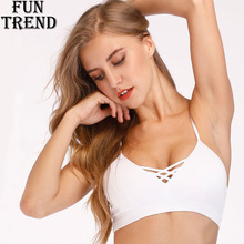 6c10fb06576 Sports Bra Women White Push Up Yoga Bra Fitness Women Sports Top Workout  Running Sport Underwear