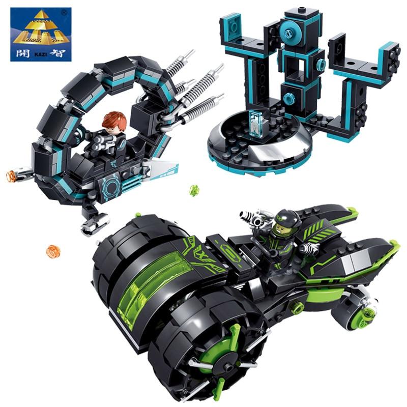 Kazi Technic Blocks Future Police Super Heroes 365PCS Education Toys Compatible With Lepin Building Bricks Star Wars police pl 12921jsb 02m