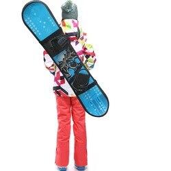 Una manga de Snowboard llevar Correa snowboard sling hombro correa de transporte de hombro-sin snowboard