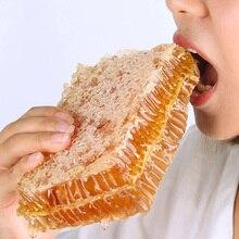 250 г чистый мед расческа Жевательная на мед ферме делает настоящий мед расческа мед натуральный пчелиный ульь питание и здоровье Женская еда десерт
