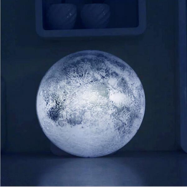Mysterious Healing Moon light Remote Moon Lamp Creative Romantic Wall lighting LED Indoor Night Light led decorate lamp for home magnetic floating levitation 3d print moon lamp led night light 2 color auto change moon light home decor creative birthday gift