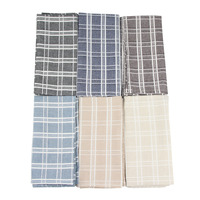 Cloth Napkins Set of 12 pcs 43x43cm cotton linen Napkins placemat heat insulation mat Soft dining table Napkin