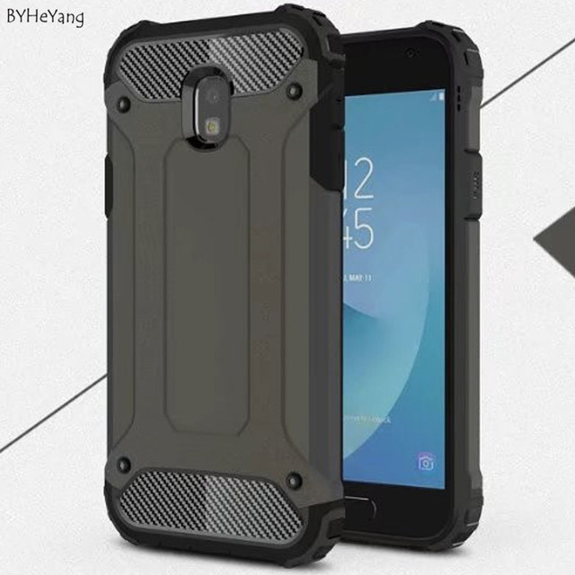 the latest c17d0 edd5d US $3.34 6% OFF BYHeYang For Samsung Galaxy J3 2017 EU Version Case Armor  Cover For Samsung J3 Pro 2017 J330 phone Case Hard PC & TPU Back Cover-in  ...