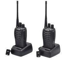 שתי דרך רדיו 2Sets BF888S מכשיר קשר תחנת כף יד FM משדר UHF שתי דרך הרדיו BF 888S Ham Communicator HF CB רדיו Baofeng BF888S (1)