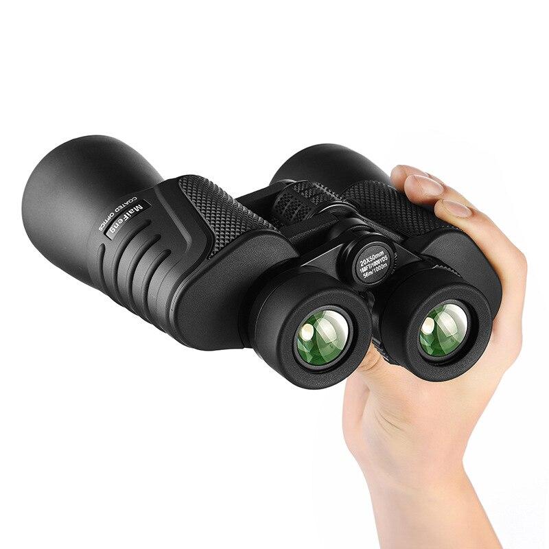 Binoculars Maifeng 20x50 Le Portable Outdoor Binocular Telescope Professional Military Day And Night Vision Hd Waterproof Optics Бинокль