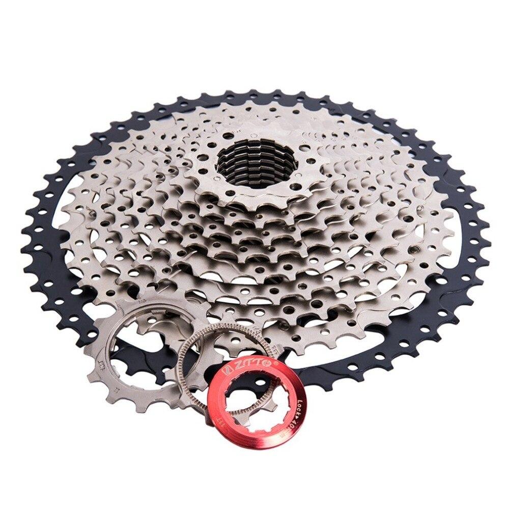 ZTTO 11 vitesses Cassette 11-50 T Compatible vélo de route système Sram haute résistance en acier pignons pliant noir argent engrenage - 5