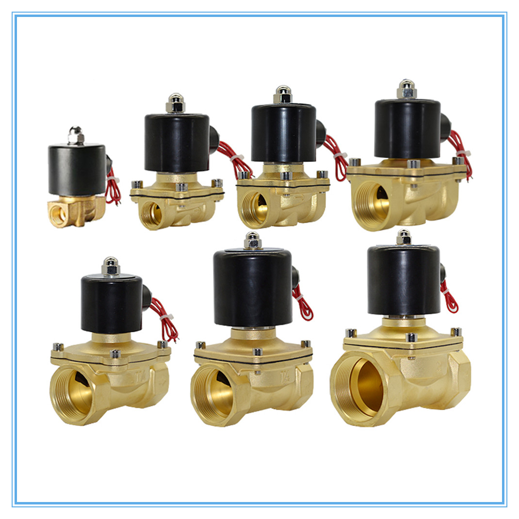 Dc 12v 1/4 2 Way Aluminum Normally Closed Pneumatic Electric Solenoid Air Valve Water Oil Liquid Water Solenoid Valve Reasonable Price Integrated Circuits