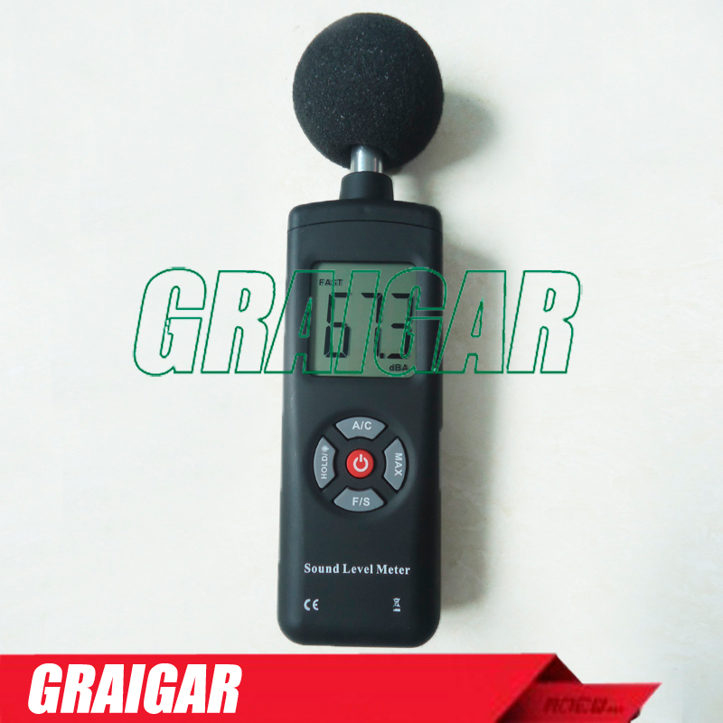 High Accuracy Sound Level Meter Noise Monitor LCD Decibel Tester 30-130dB TL-201