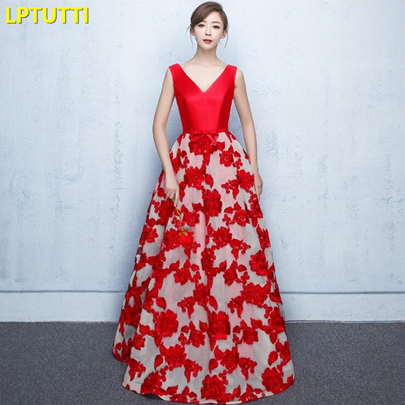 LPTUTTI Lace New For Women Elegant Date Ceremony Party Prom Gown Formal Gala Events Luxury Long   Evening     Dresses