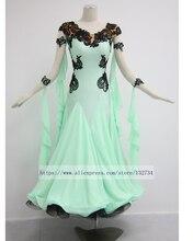 Tailor Made Elegant ballroom Standard juvenile dance clothing Salsa Tango dance dress elegant comfortable dress B