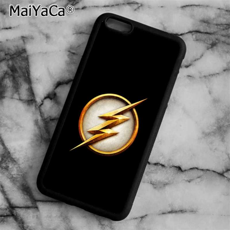 MaiYaCa Flash Man супергерой Marvel чехол для телефона для iPhone 5 6 6s 7 8 plus 11 pro X XR XS max samsung S7 edge S8 S9 S10