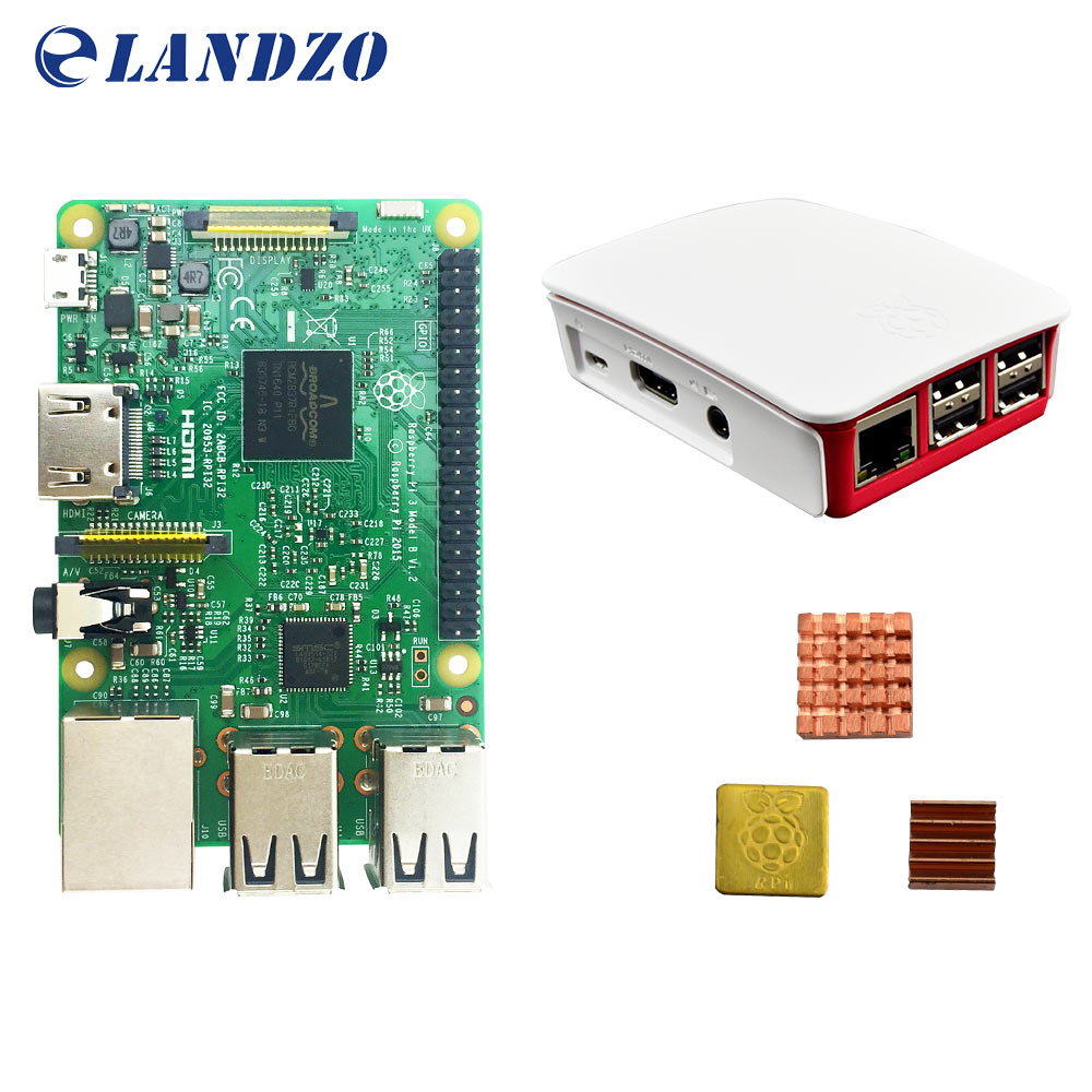 B Raspberry Pi 3 Starter Kit with Raspberry Pi 3 Model B original pi 3 case