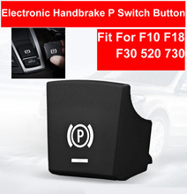 TPU P Electronic Handbrake Switch Button Cap For BMW 5/7 Series F01 F02 F07 F10 F11 2009-2014 520 523 2014-2017