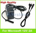 12 v 2a 24 w genuine para microsoft surface rt/pro/2 Adaptador AC Carregador 1512 1513 1516 PA-1240-06MX PA-1240-07M2 EUA UE plugue