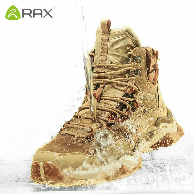 RAX Mens Waterproof Hiking Shoes