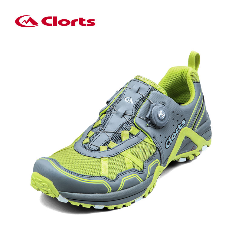2018 outdoor Men's BOA Lacing System Running Shoes Breathable Lightweight Button control Elastic Sport Shoes camping Sneakers kelme 2016 new children sport running shoes football boots synthetic leather broken nail kids skid wearable shoes breathable 49