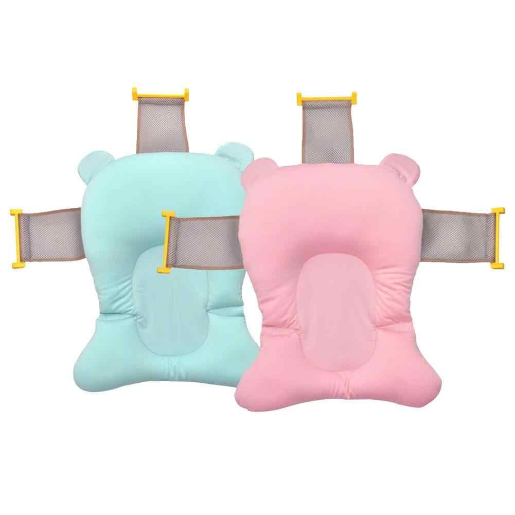 Детский коврик для ванной для новорожденных, нескользящий коврик для ванной, бионический дизайн, детский поддерживающий коврик для младенцев, плавающий коврик для ванной